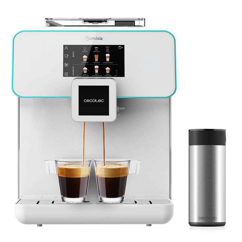 Zoznámte sa s jedinečným automatickým kávovarom Cecotec