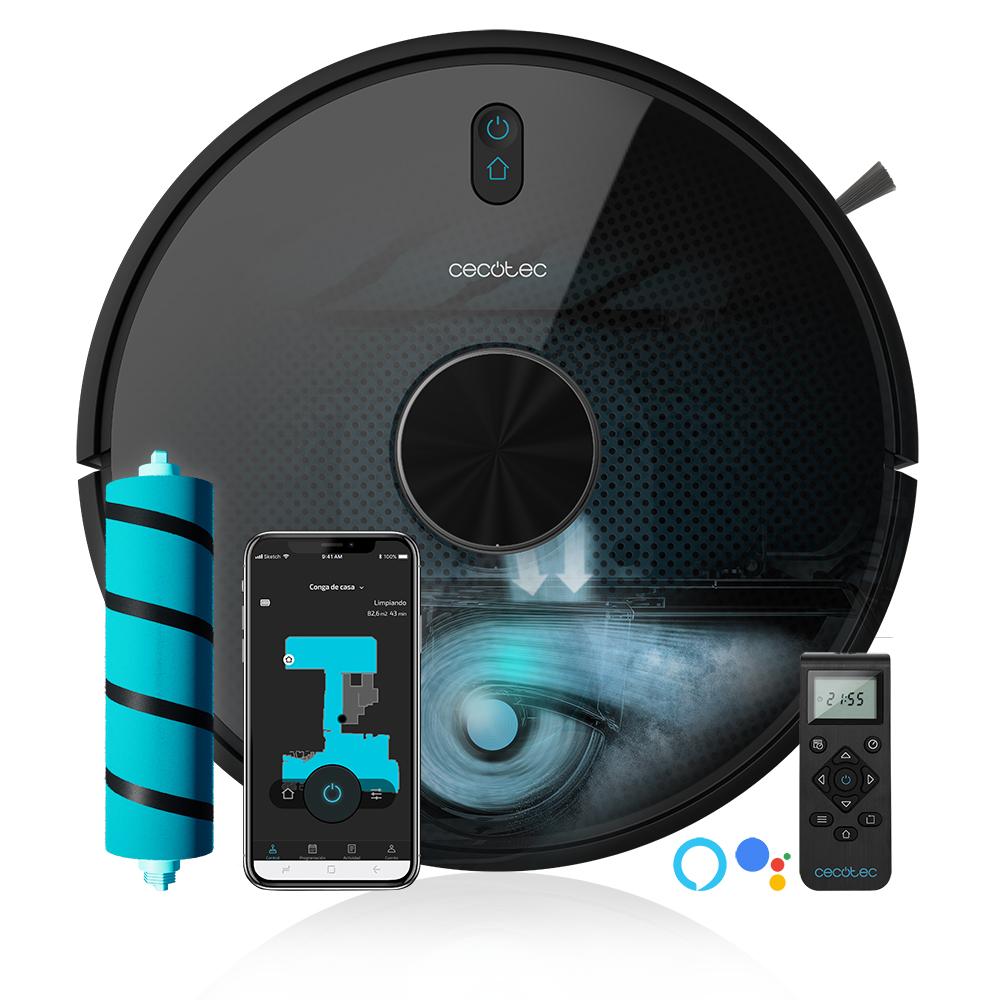 Robotický vysávač Cecotec Conga 5490, čierny